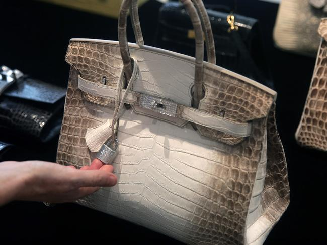 This handbag costs more than the average home in the UK. Picture: AFP/Isaac Lawrence.
