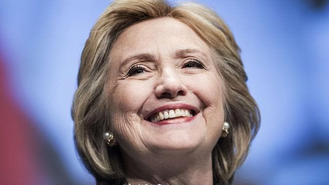 Come to think of it, she's already looking seriously Presidential.