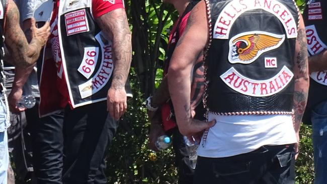 History of bikies on Gold Coast, where the clubs are based