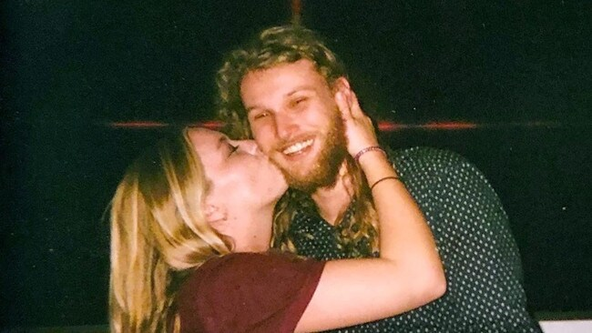 Australian Lucas Fowler and his American girlfriend were on a dream road trip to Alaska when they were found murdered. Picture: Facebook