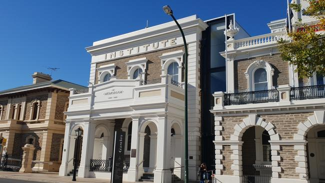 The Gawler Town Hall and Institute Building on Murray St, Gawler. Picture: Colin James