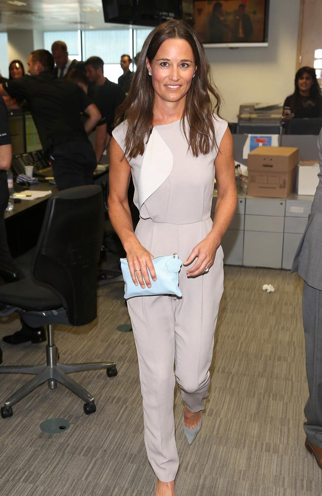 Pippa Middleton attends the BGC Annual Global Charity Day at Canary Wharf on September 12, 2016 in London, England. Picture: Getty