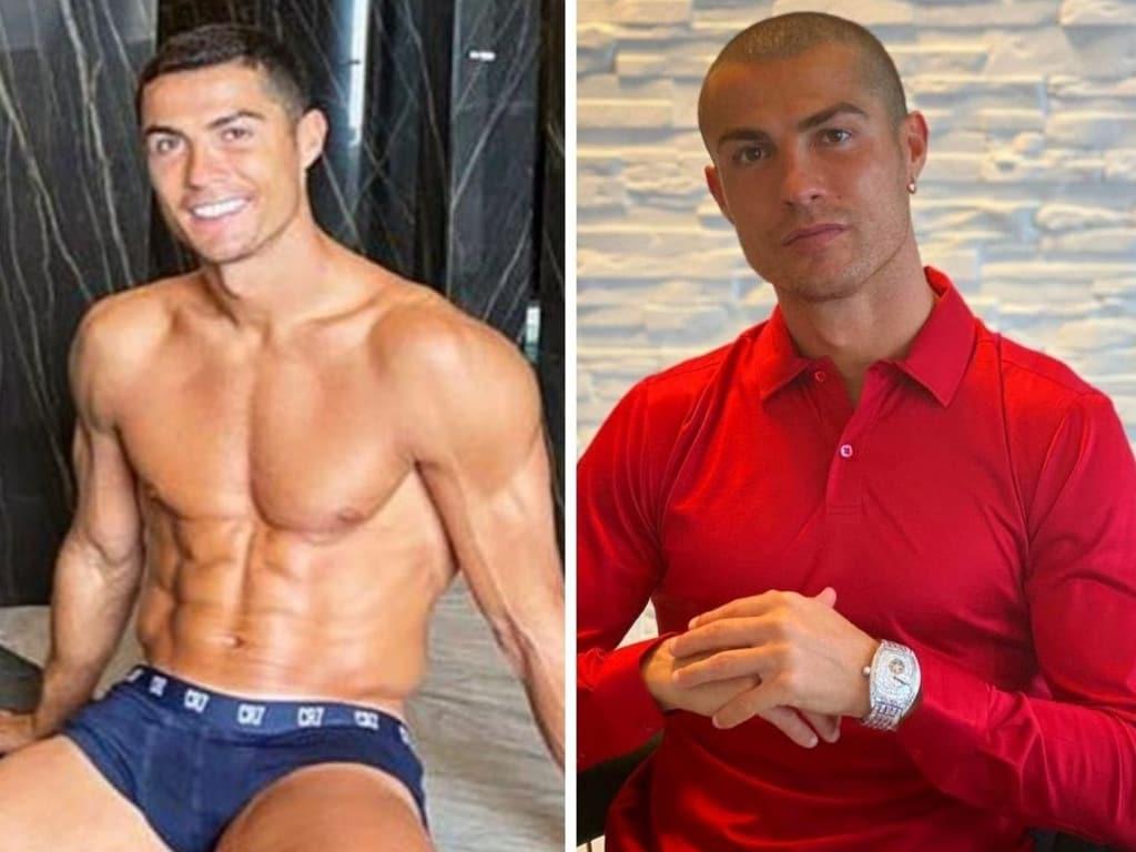 Cristiano Ronaldo has COVID twice.