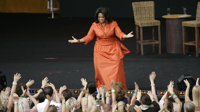 Is being this close to Oprah worth $2,500? Photo: AP Photo/Jeremy Piper