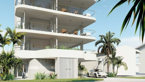 It will have just five units spread across seven levels.