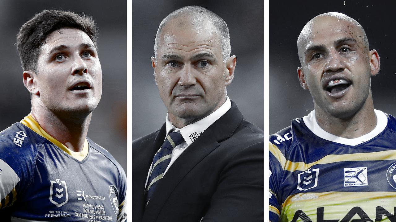 Questions to answer: Mitchell Moses, Brad Arthur and Blake Ferguson.
