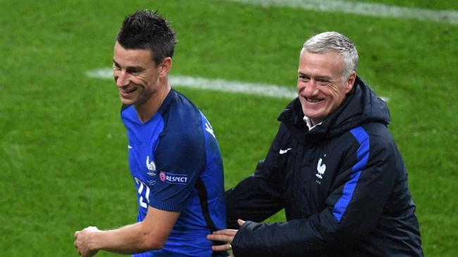 Koscienly didn't feature in Deschamps' World Cup-winning side.