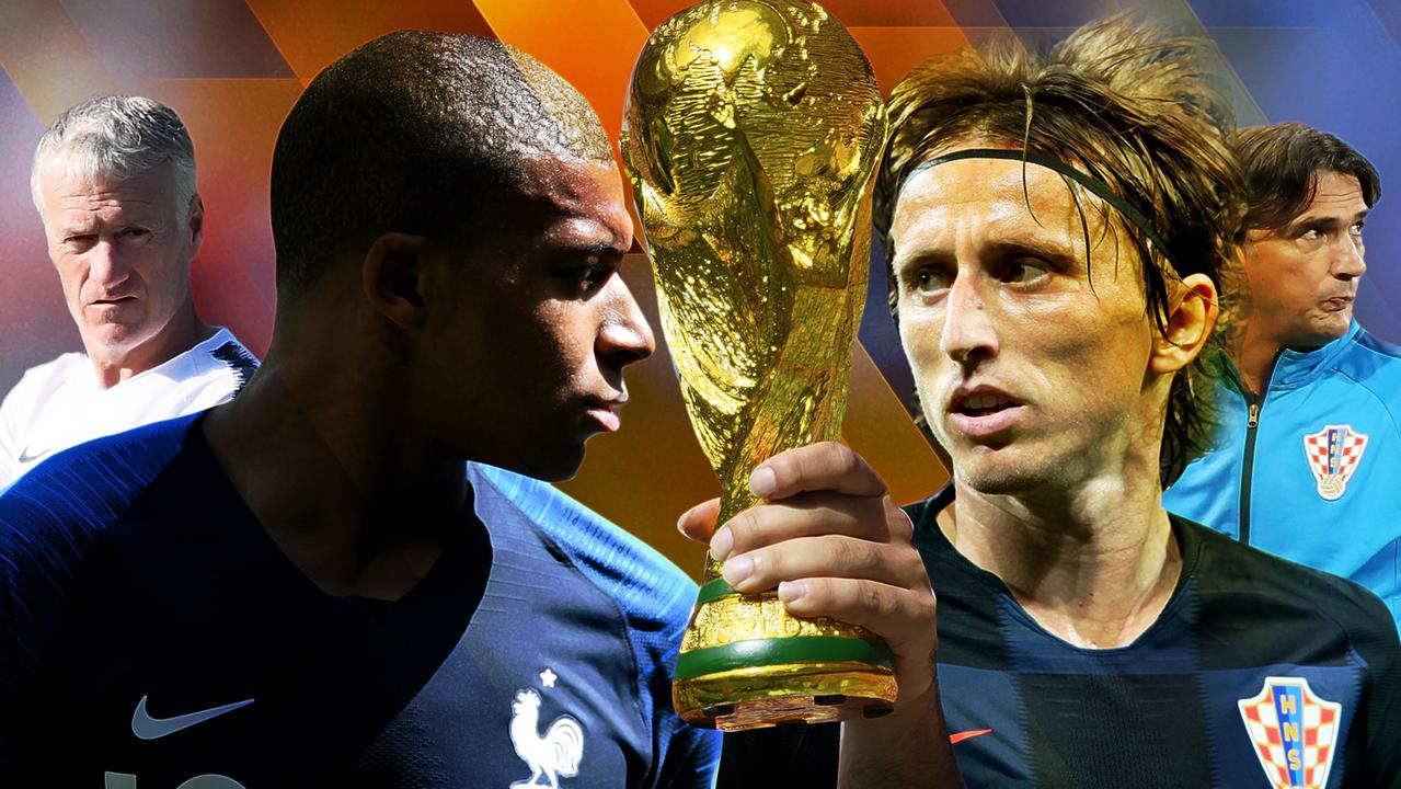 France and Croatia play off for the right to lift the World Cup!