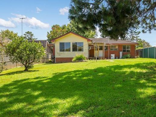 The single level home is located on a 968sqm block but is not zoned for redevelopment