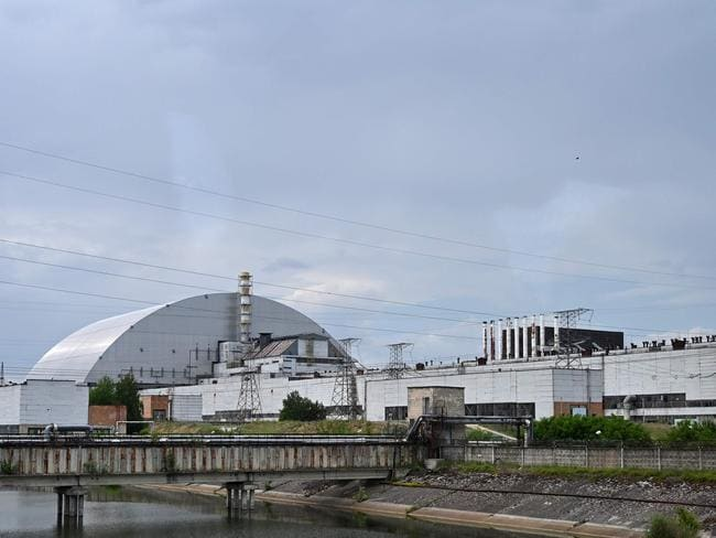 A picture taken on June 7, 2019, shows the Chernobyl nuclear power plant and the Chernobyl's New Safe Confinement covering the 4th block (reactor 4). Picture: Genya Savilov/AFP