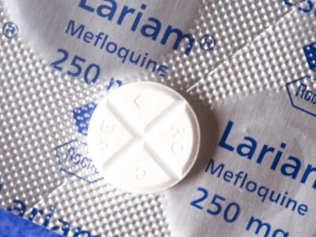 Lariam was given to soldiers once a week in Timor as part of a mass trial.