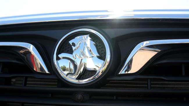 The Holden badge will disappear from new cars next year. Picture: AAP Image/Kelly Barnes