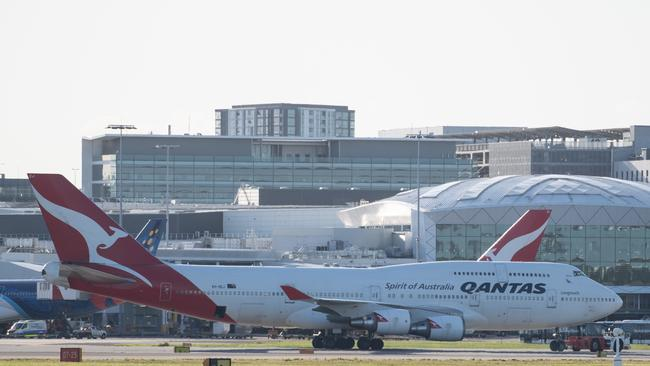 The COVID-19 pandemic has hit the airline industry hard. Picture: AAP Image/James Gourley