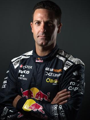 Ready to roll: Jamie Whincup is set for the 2018 series.