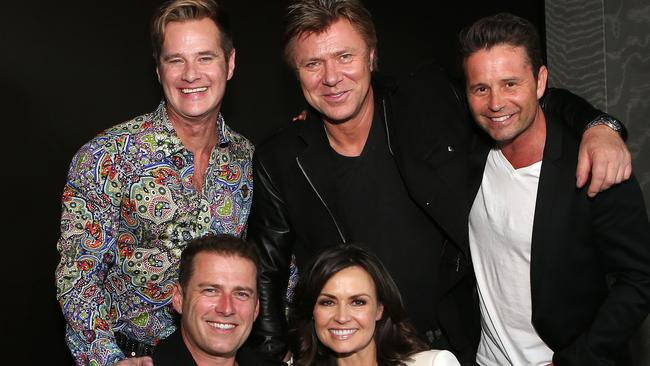 Former Today show team: Richard Reid, Richard Wilkins, Steve Jacobs, Karl Stefanovic and Lisa Wilkinson. Picture: Julie Kiriacoudis