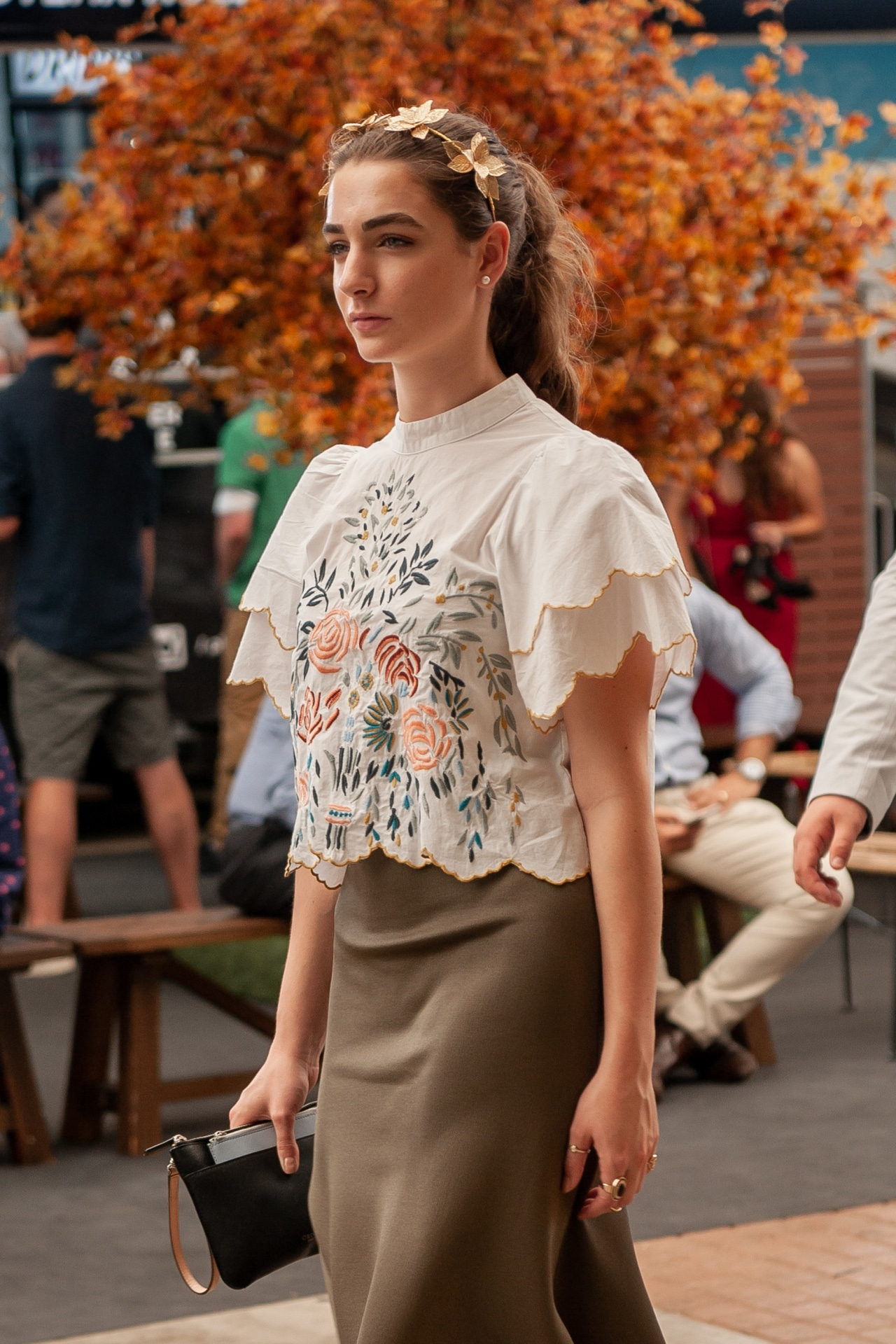 The best street style from Longines Golden Slipper 2019