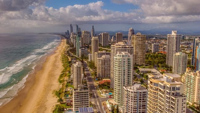 The Gold Coast is Australia's most sought-after property location. Picture: Glenn Turner