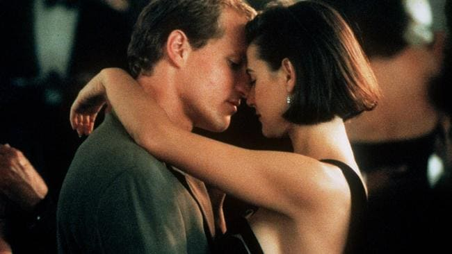 Demi and Woody Harrelson in Indecent Proposal.