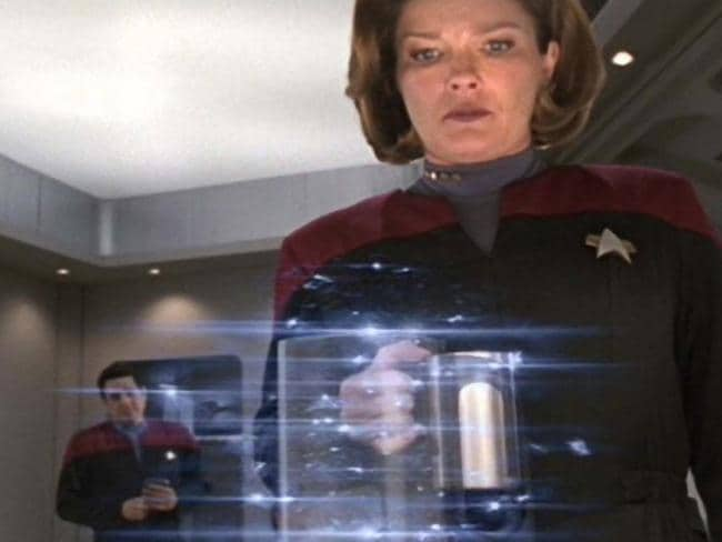A food replicator produces a fully-formed meal out of nowhere on Star Trek: Voyager. We're not quite there yet, but science has proven it can use electricity and carbon dioxide to make single-cell proteins.