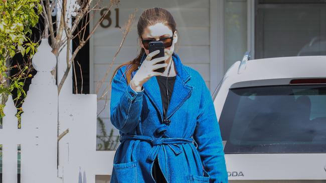 Belle Gibson told a court last year she cannot afford to pay her fine. Picture: Ian Currie