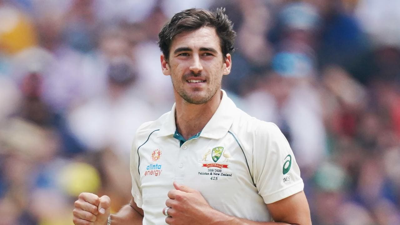 Mitchell Starc has put on five kilos of muscle.