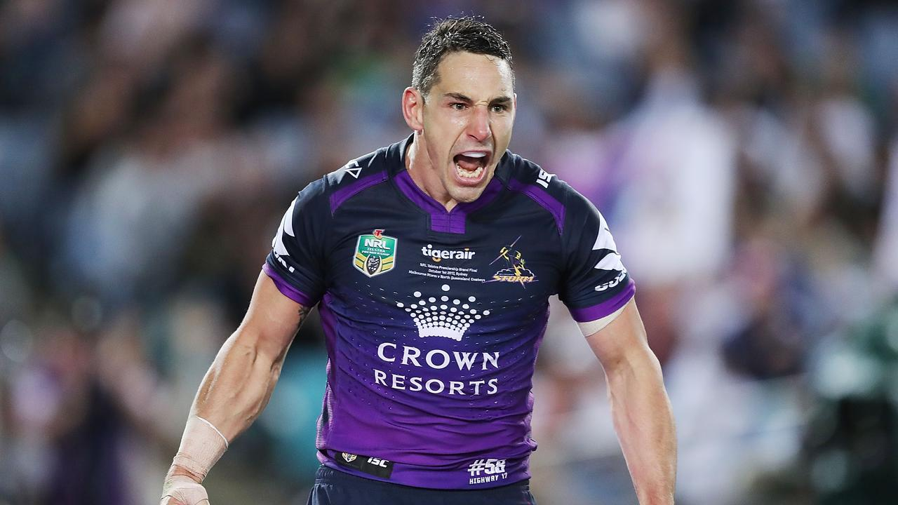 Billy Slater transformed the way fullbacks approached the game. (Photo by Mark Metcalfe/Getty Images)