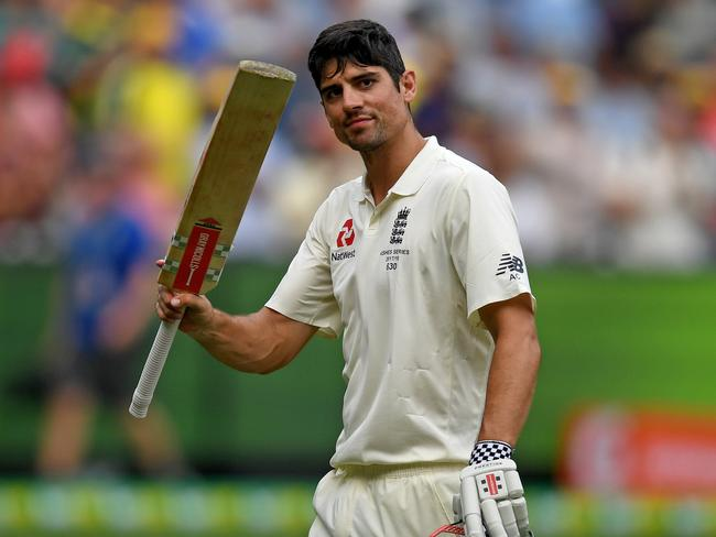 Alastair Cook smashed a double century on the placid deck.