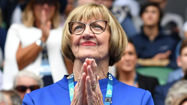 Australian tennis legend Margaret Court.