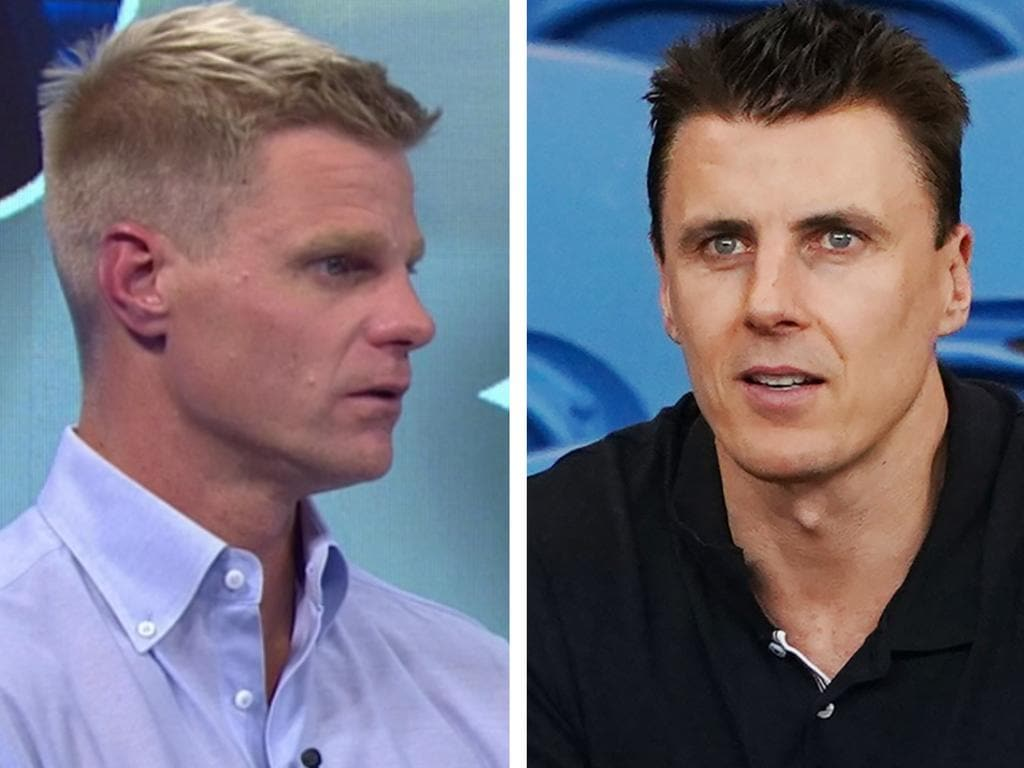Nick Riewoldt has responded to Matthew Lloyd.