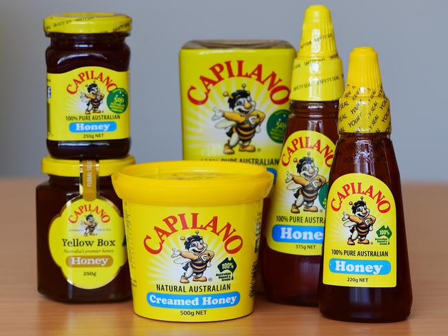 Capilano honey could be taken over. Picture: Zoe Phillips