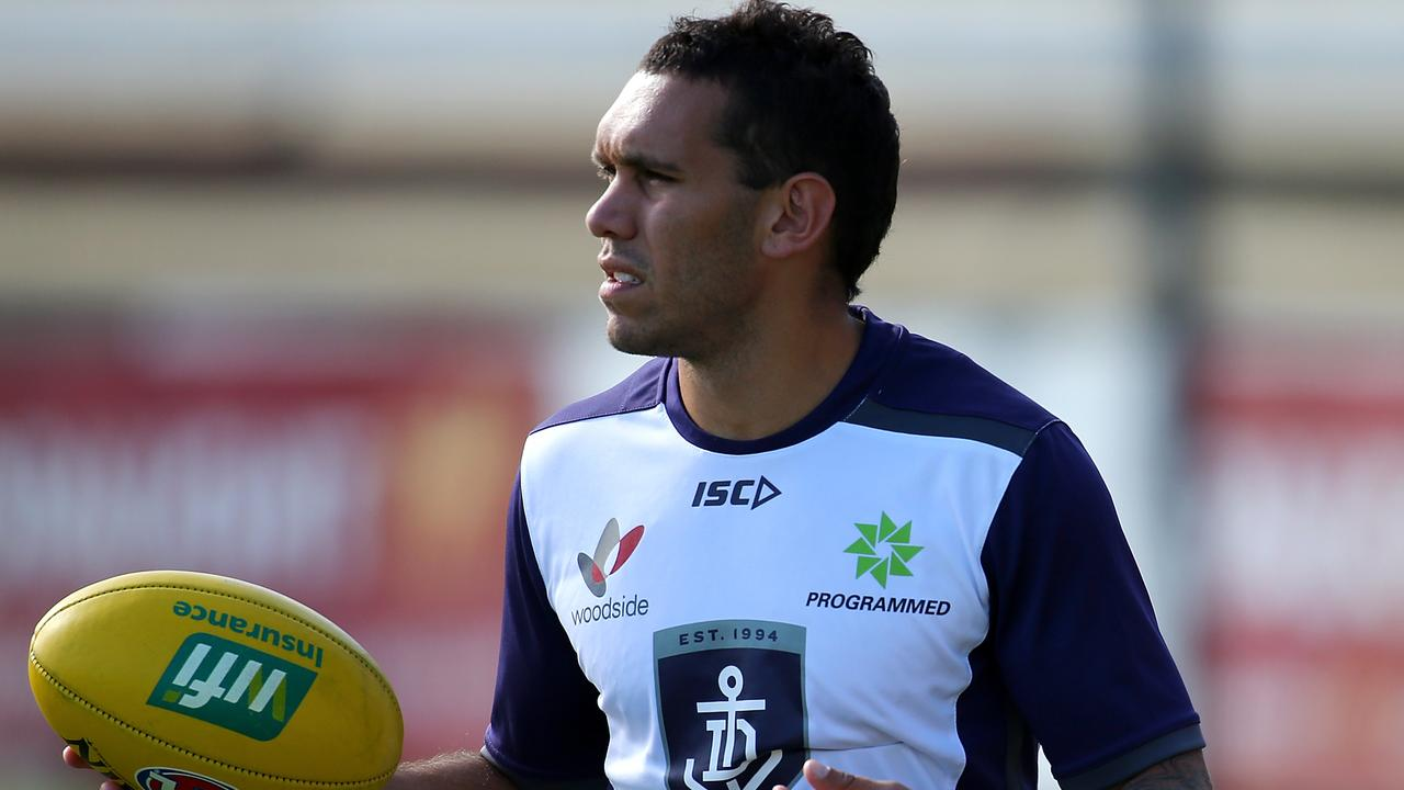 Harley Bennell of the Dockers back in 2016.