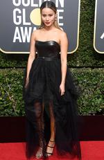 Actor Jamie Chung attends The 75th Annual Golden Globe Awards at The Beverly Hilton Hotel on January 7, 2018 in Beverly Hills, California. Frazer Harrison/Getty Images/AFP
