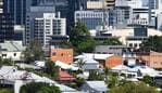 The suburbs of Paddington and Petrie Terrace are seen with the Brisbane CBD skyline in Brisbane, Tuesday, January 15, 2019. In the year to December 2018, house prices in the greater Brisbane area rose 2.3 per cent to an average of $525,000 according to the Real Estate Institute of Queensland (REIQ). (AAP Image/Darren England) NO ARCHIVING