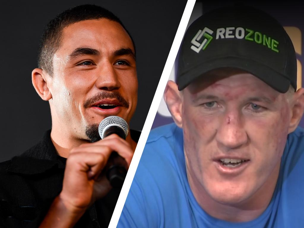 Rob Whittaker and Paul Gallen.