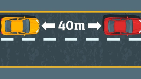 40 metres between cars could get everyone to where they're going faster.