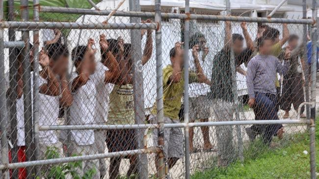 The government is trying to resettle about 800 detainees from Manus Island. Picture: Eoin Blackwell