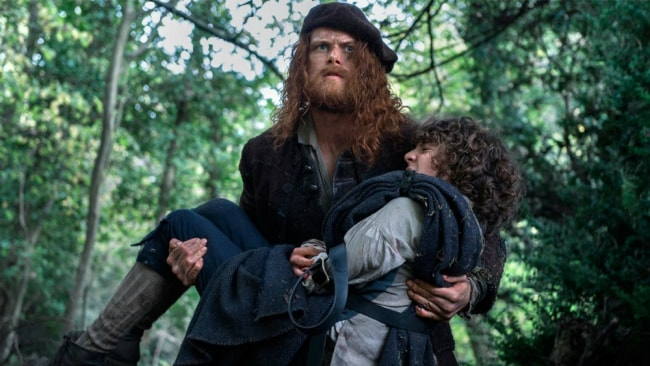 Jamie's new look in 'Outlander'. Photo: Starz