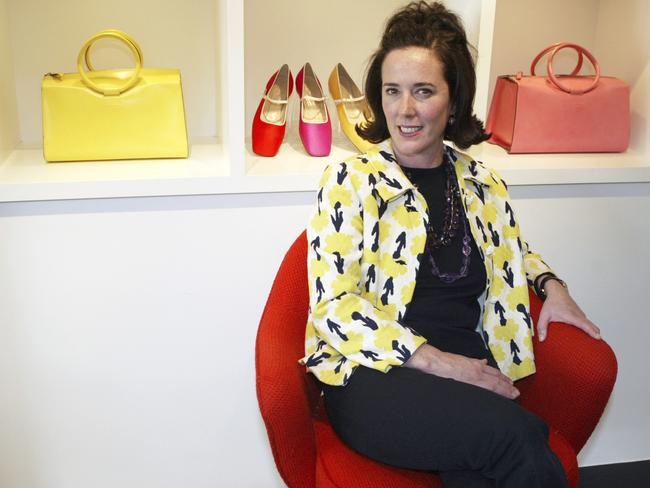 Kate Spade in 2004. Picture: AP