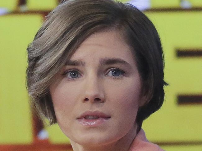 Amanda Knox in 2014 after her return to the US. Picture: AP