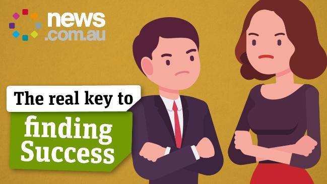 The real key to finding success at work