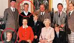 Photos taken in 1996 of the British Royal Family released by the Queen and sold as postcards in the Balmoral palace shops. (L to R) standing: Princess Anne's second husband Tim Lawrence, her son Peter Phillips, the Duke of Edinburgh, Princes Charles and Edward. (L to R) seated: Princess Anne's daughterZara Phillips, Princess Anne, Prince Charles's son Prince Harry, Queen Elizabeth II, and Prince Charles's son Prince William. Balmoral, GREAT BRITAIN - 1996/0602172118. 17 Apr 2018 Pictured: Photos taken in 1996 of the British Royal Family released by the Queen and sold as postcards in the Balmoral palace shops. (L to R) standing: Princess Anne's second husband Tim Lawrence, her son Peter Phillips, the Duke of Edinburgh, Princes Charles and Edward. (L to R) seated: Princess Anne's daughterZara Phillips, Princess Anne, Prince Charles's son Prince Harry, Queen Elizabeth II, and Prince Charles's son Prince William. Balmoral, GREAT BRITAIN - 1996/0602172118. Photo credit: STEWART DONALD/SIPA / MEGA TheMegaAgency.com +1 888 505 6342 (Mega Agency TagID: null) [Photo via Mega Agency]