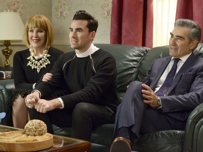 Catherine O'Hara in Schitt's Creek. Picture: ABC Comedy