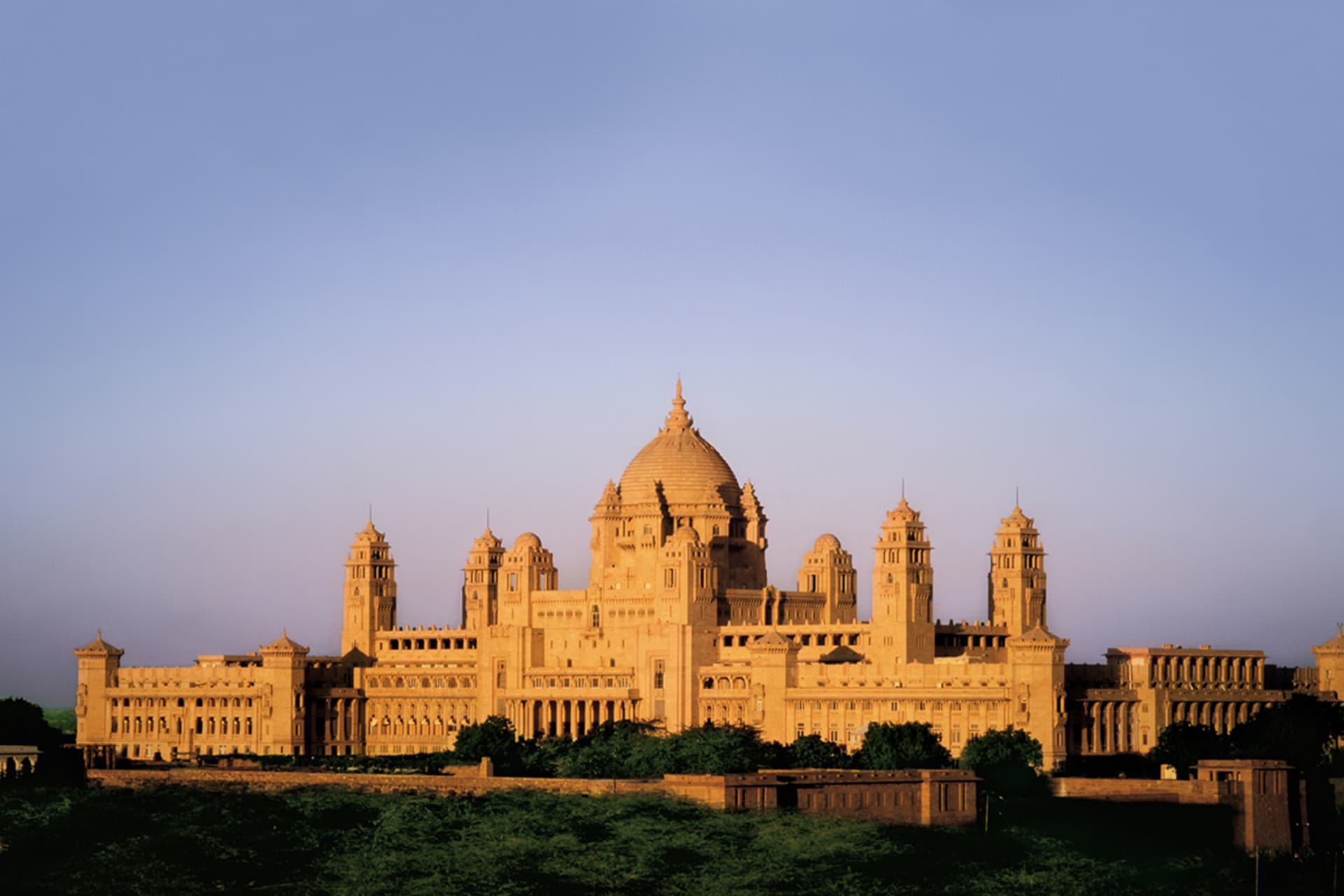 The Umaid Bhawan Palace. Image credit: Getty Images