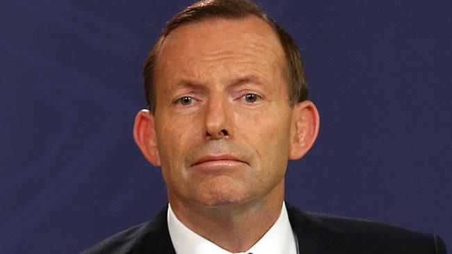 Barbaric ... Tony Abbott says Australia stands with the people of France. Picture: James Croucher/News Corp.