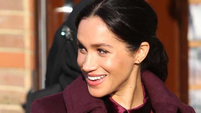 The Duchess of Sussex is under fire from various media outlets including The Sunday Telegraph. Picture: Supplied