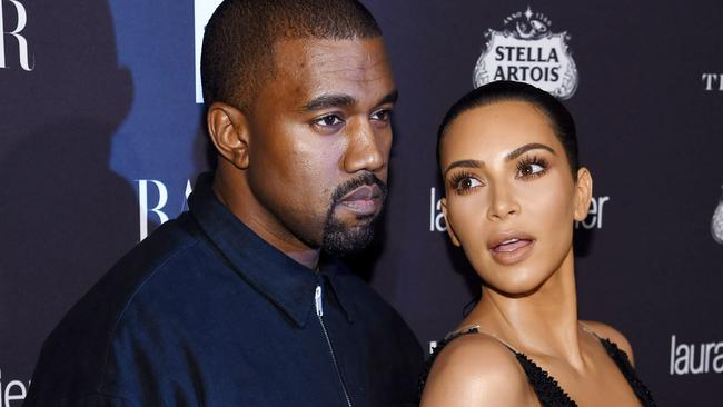 Kanye West and Kim Kardashian West attend Harper's Bazaar's celebration of ICONS By Carine Roitfeld.