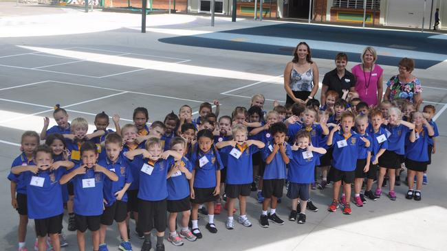 Prep students at Bowen State School.