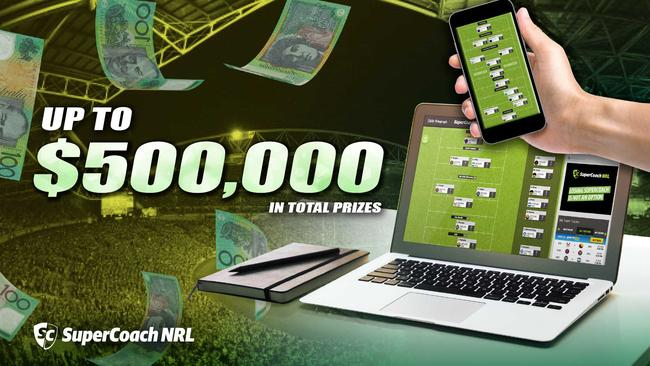 Almost $500K is up for grabs in SuperCoach NRL.