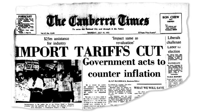 Mr Smith has called for import tariffs to protect Aussie workers.