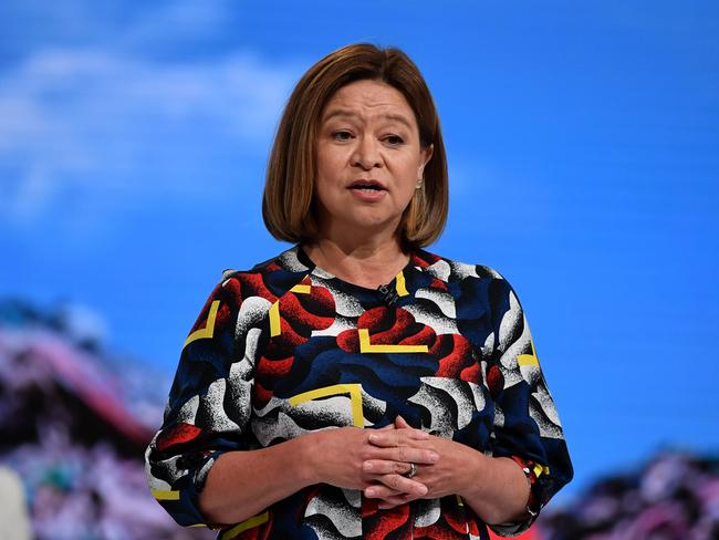 Former managing director Michelle Guthrie was an unpopular figure among staff at the ABC. Picture: AAP